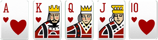 kartu royal flush poker