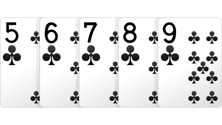 kartu straight flush poker